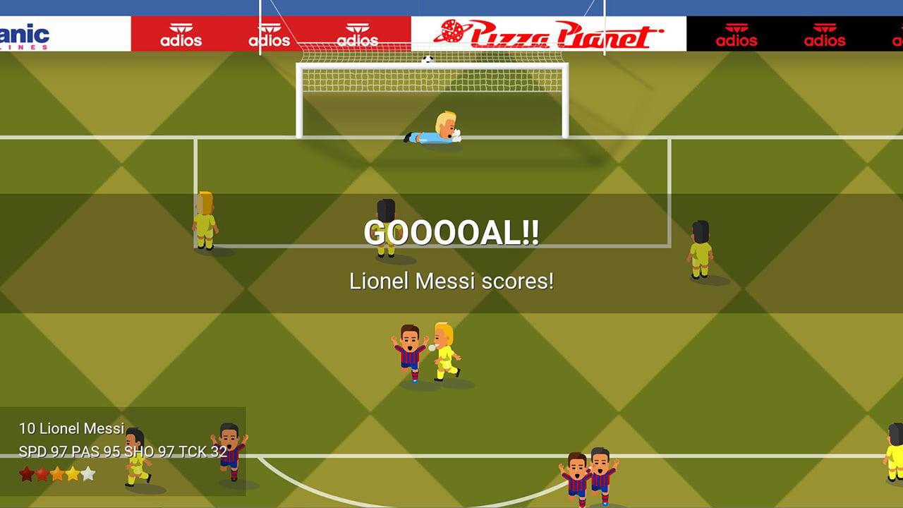 World Soccer Champs screen 1