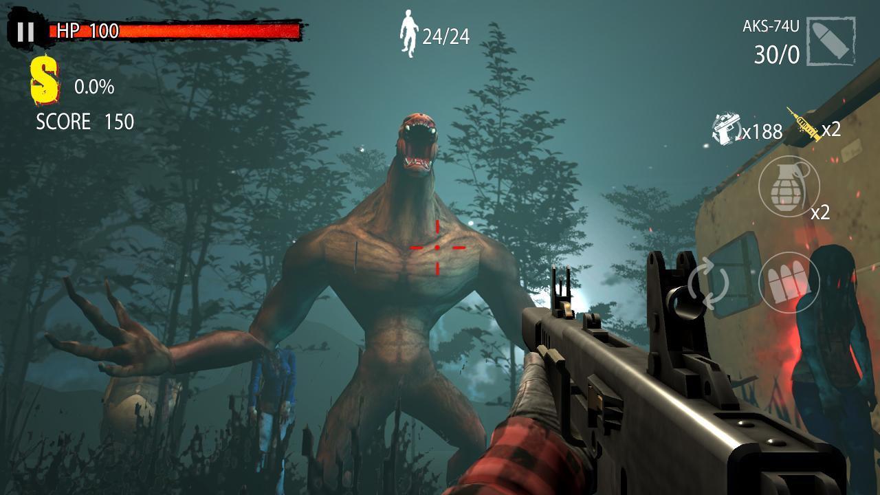 Zombie Hunter D Day screen 0
