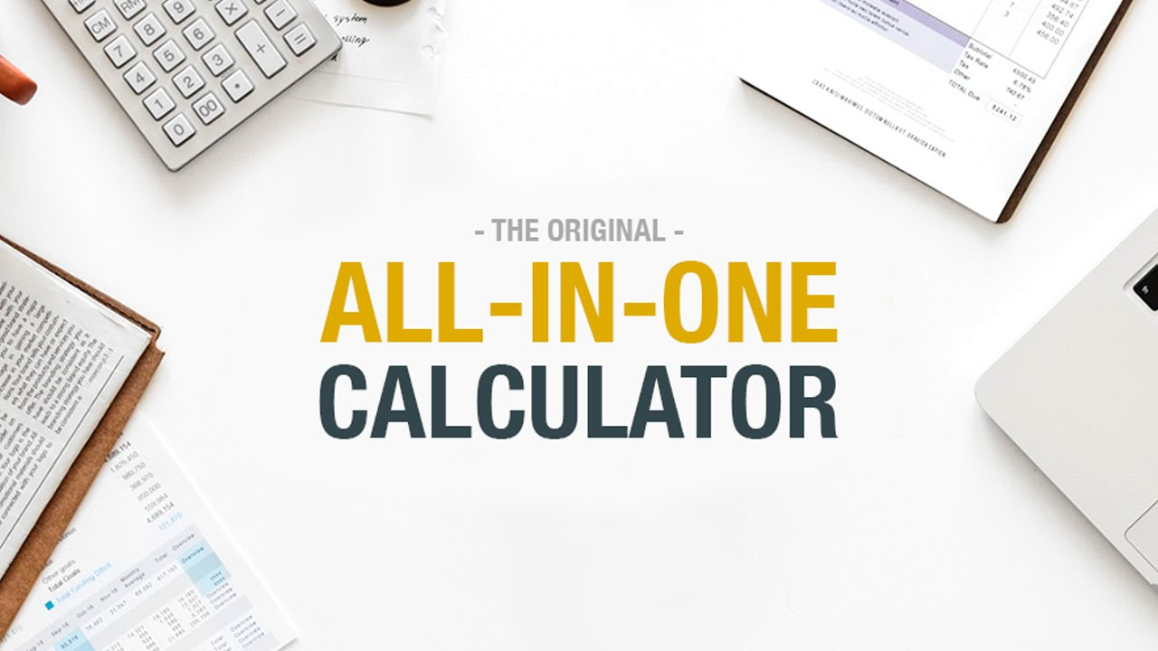 All In One Calculator poster