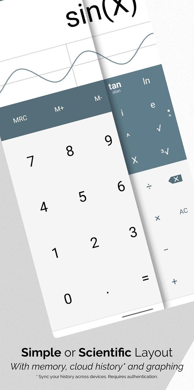 All In One Calculator screen 1