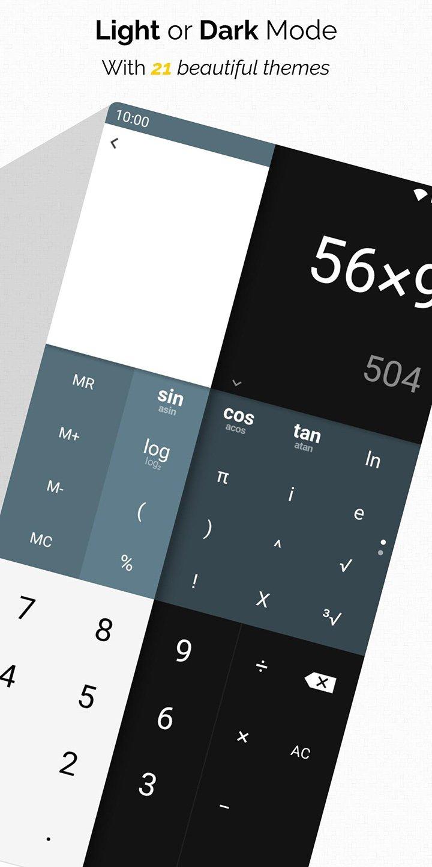 All In One Calculator screen 2