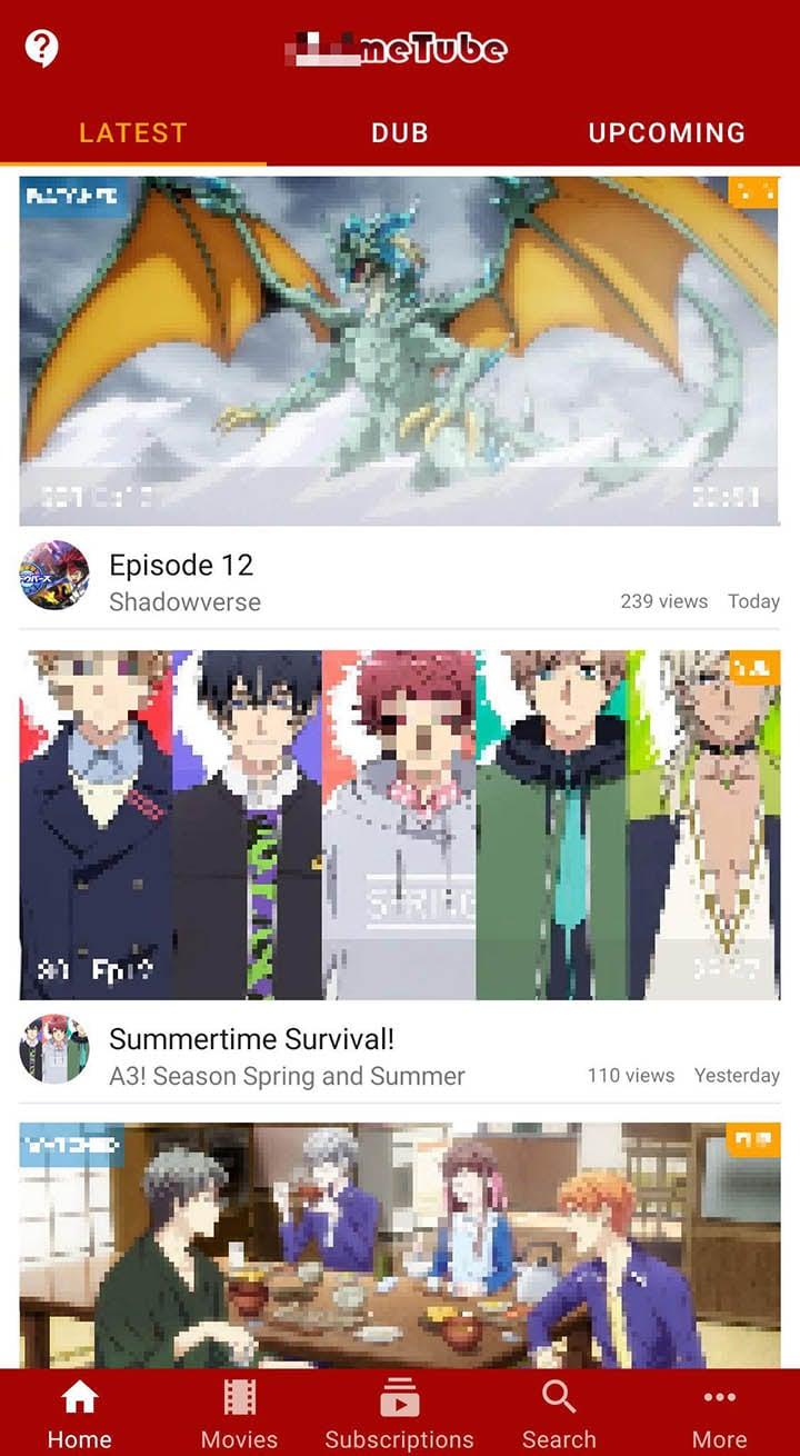 Anime Fanz Tube Anime Stack screen 1
