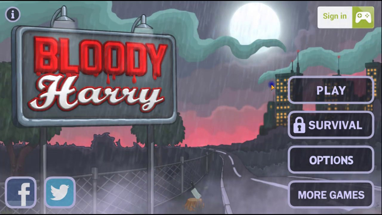 Bloody Harry poster