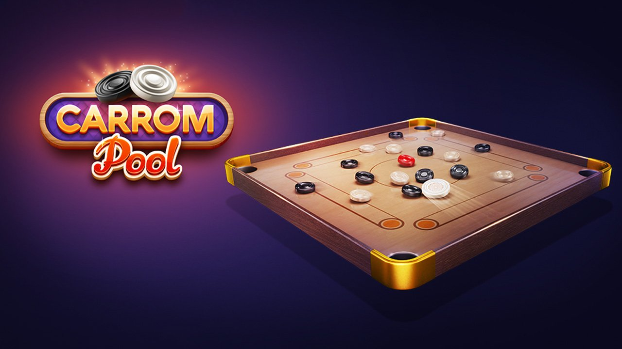 Carrom Pool Disc Game poster