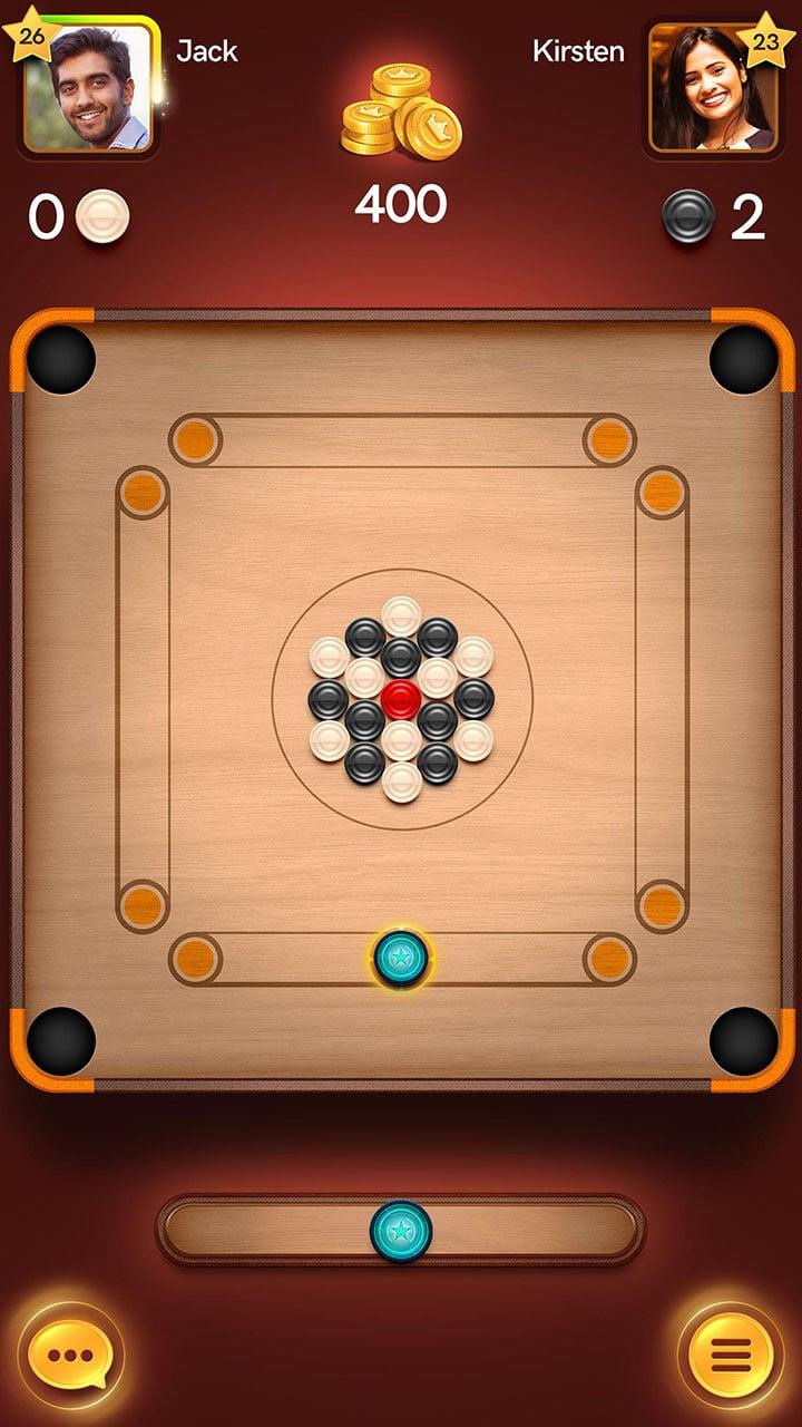 Carrom Pool Disc Game screen 0