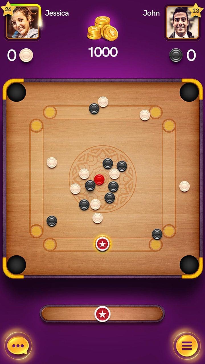 Carrom Pool Disc Game screen 1