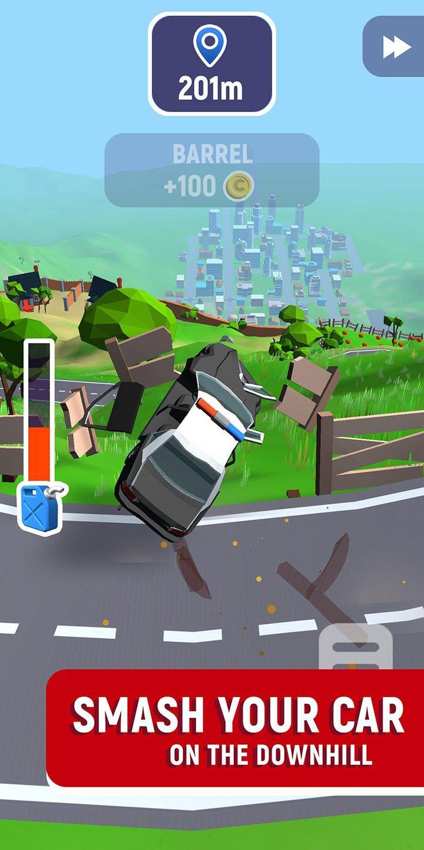 Crash Delivery screen 1
