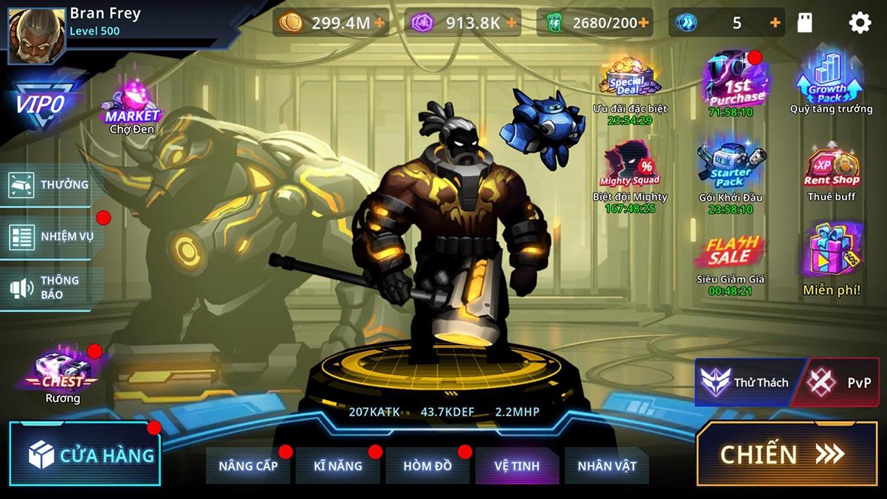 Cyber Fighters screen 3