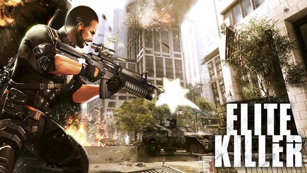 Elite Killer SWAT poster
