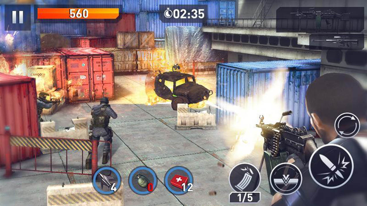 Elite Killer SWAT screen 0