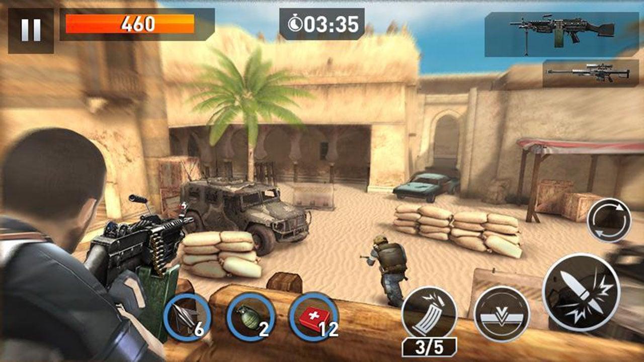 Elite Killer SWAT screen 1
