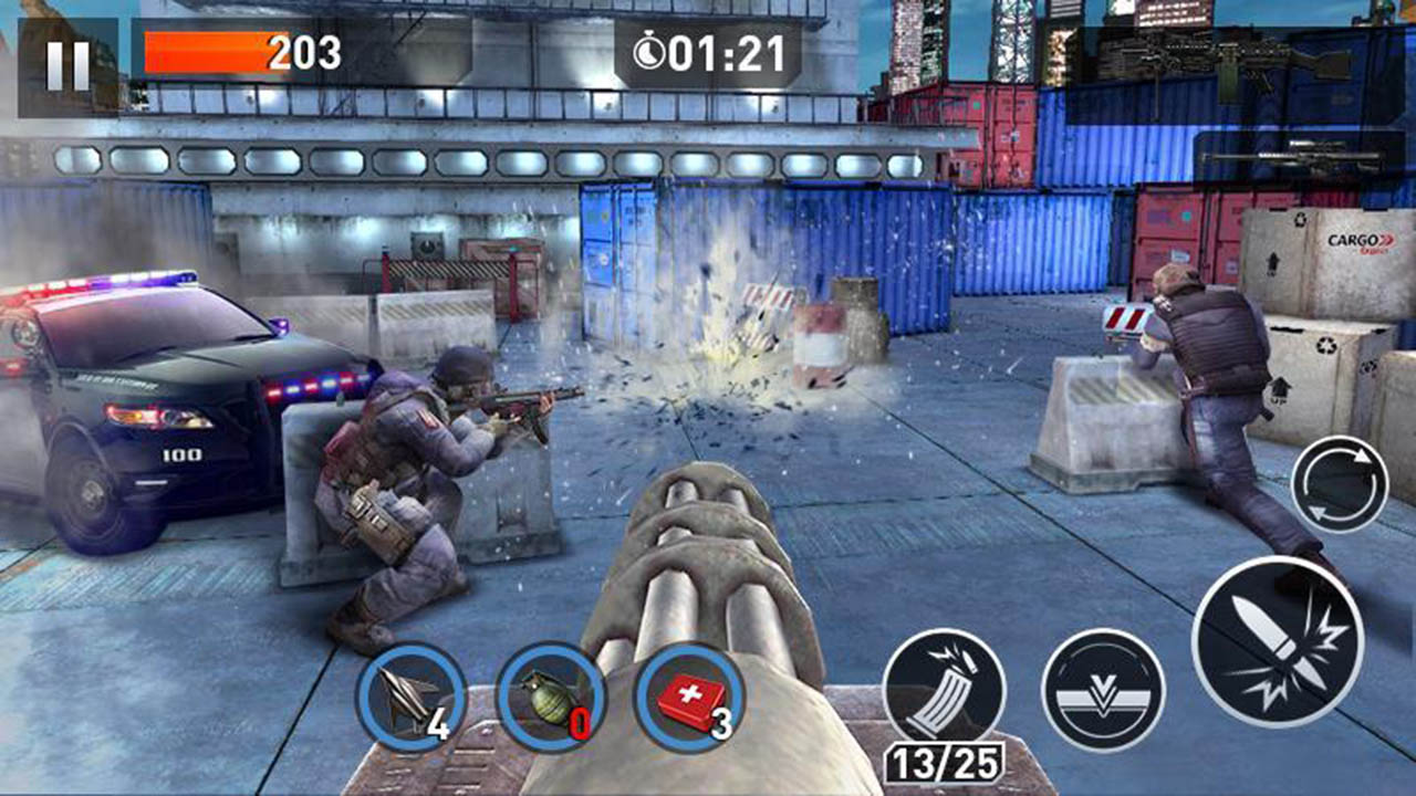 Elite Killer SWAT screen 2