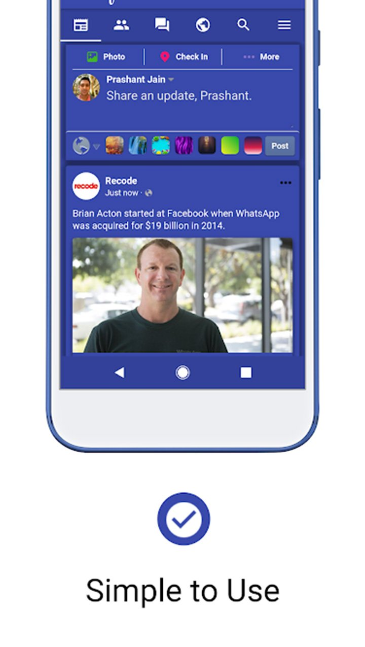 Fella for Facebook screen 3