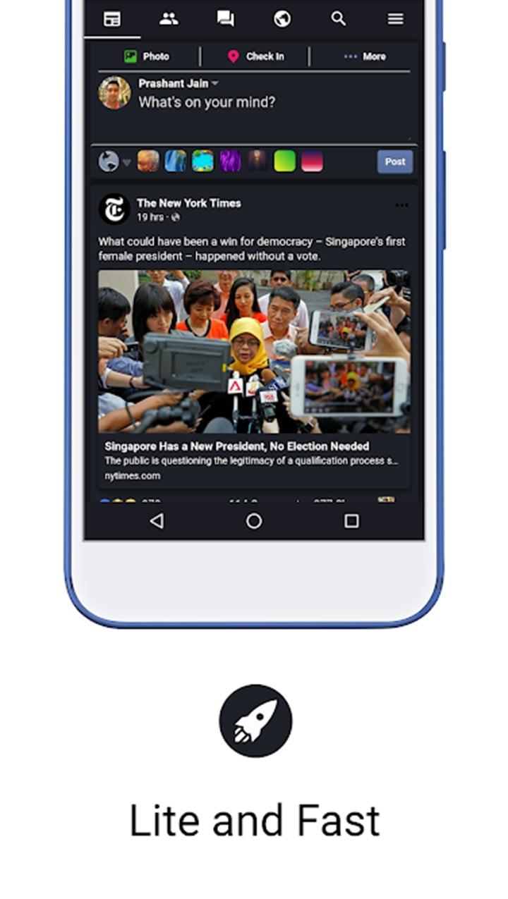 Fella for Facebook screen 5