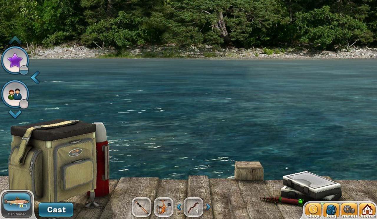 Fishing Paradise 3D screen 2