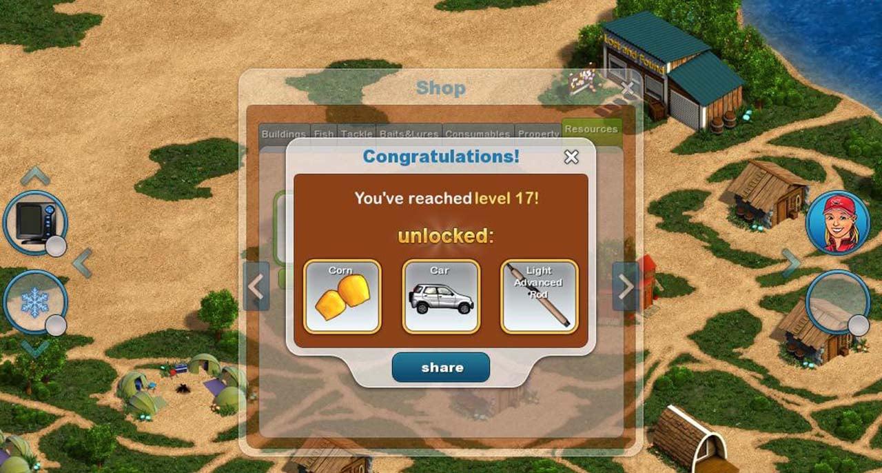 Fishing Paradise 3D screen 4