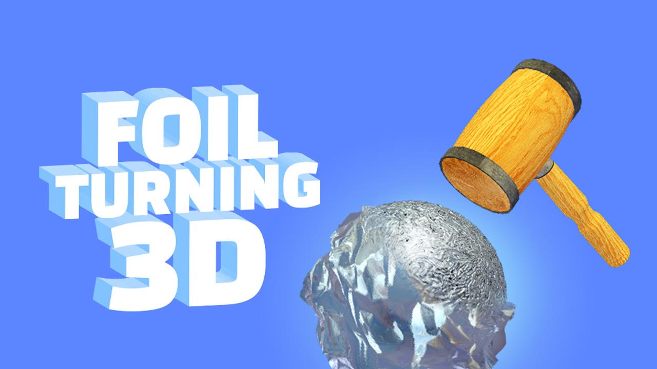 Foil Turning 3D poster