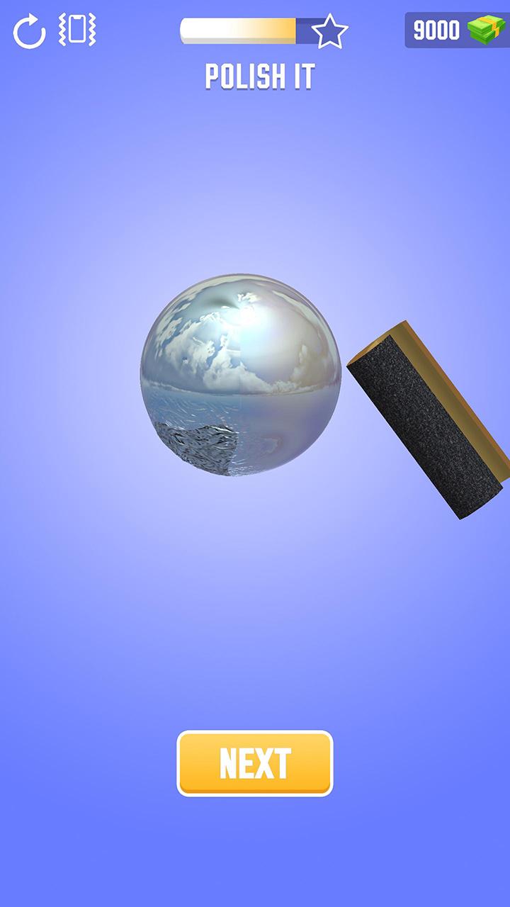 Foil Turning 3D screen 2
