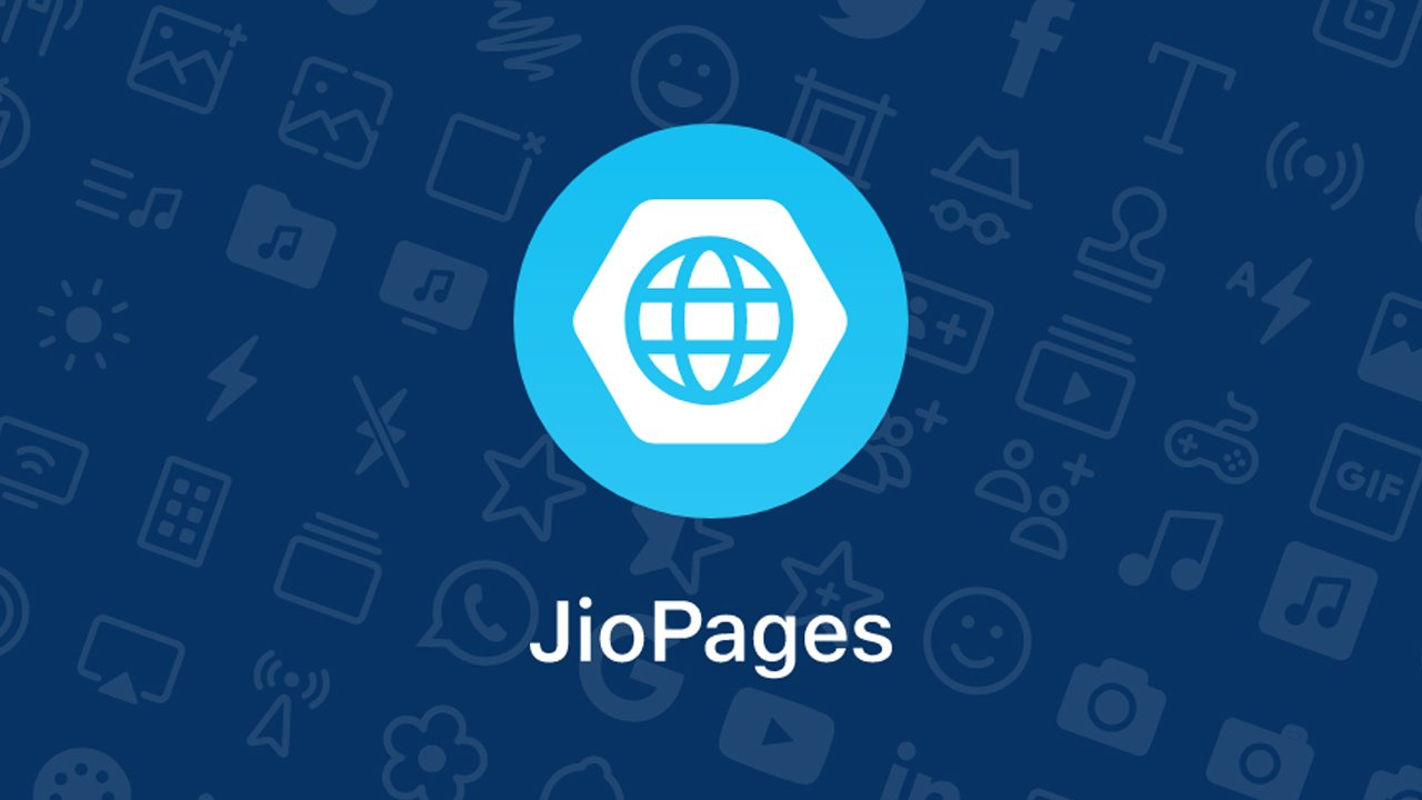 JioPages poster