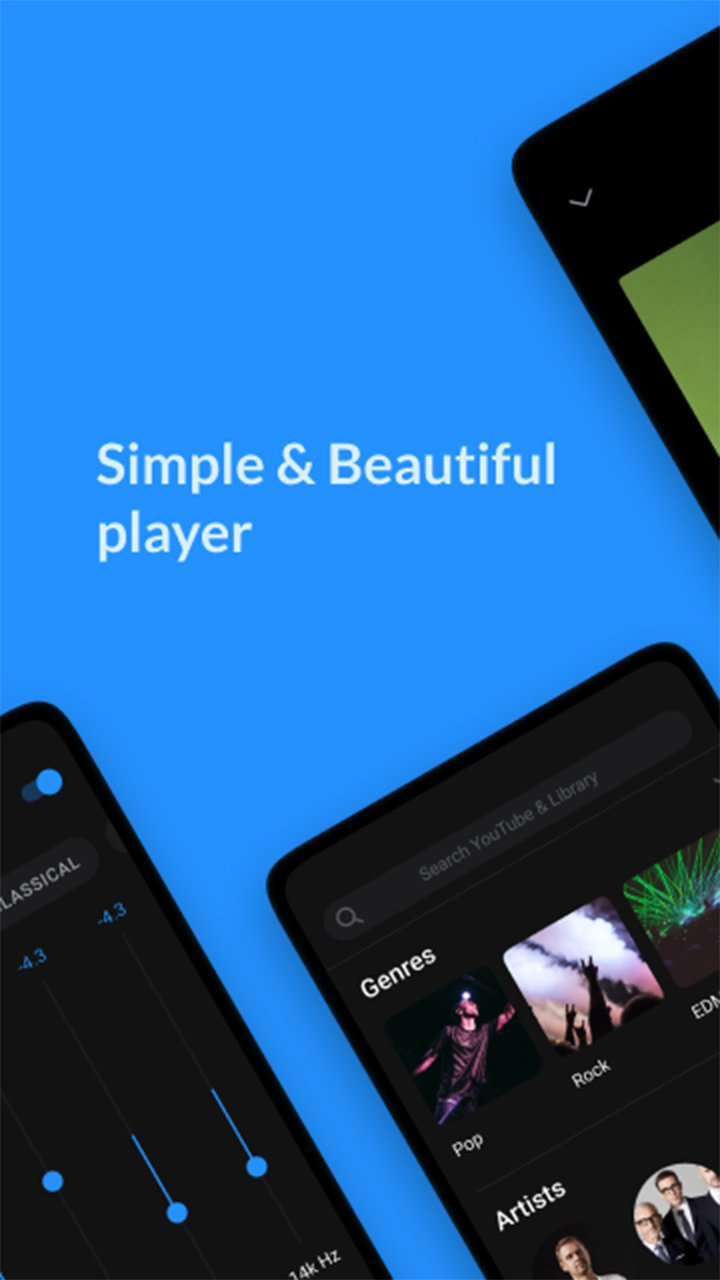 Lark Player screen 1