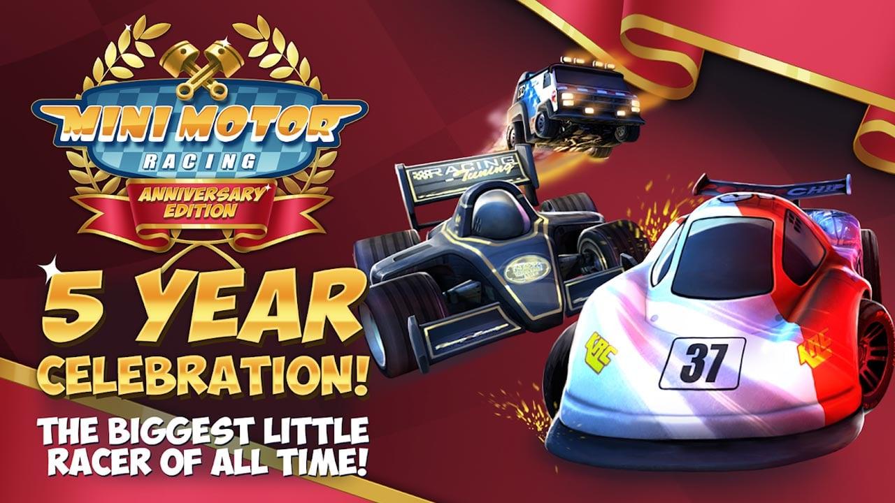 Mini Motor Racing poster