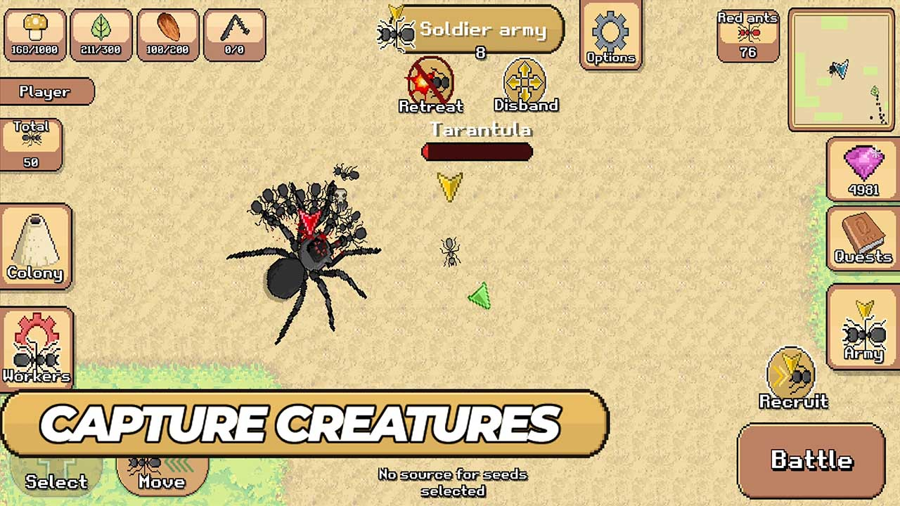 Pocket Ants screen 2