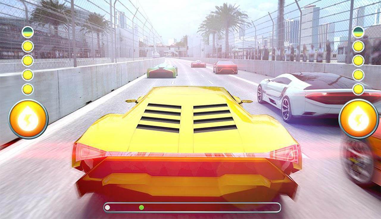 Racing 3D Speed Real Tracks screen 2