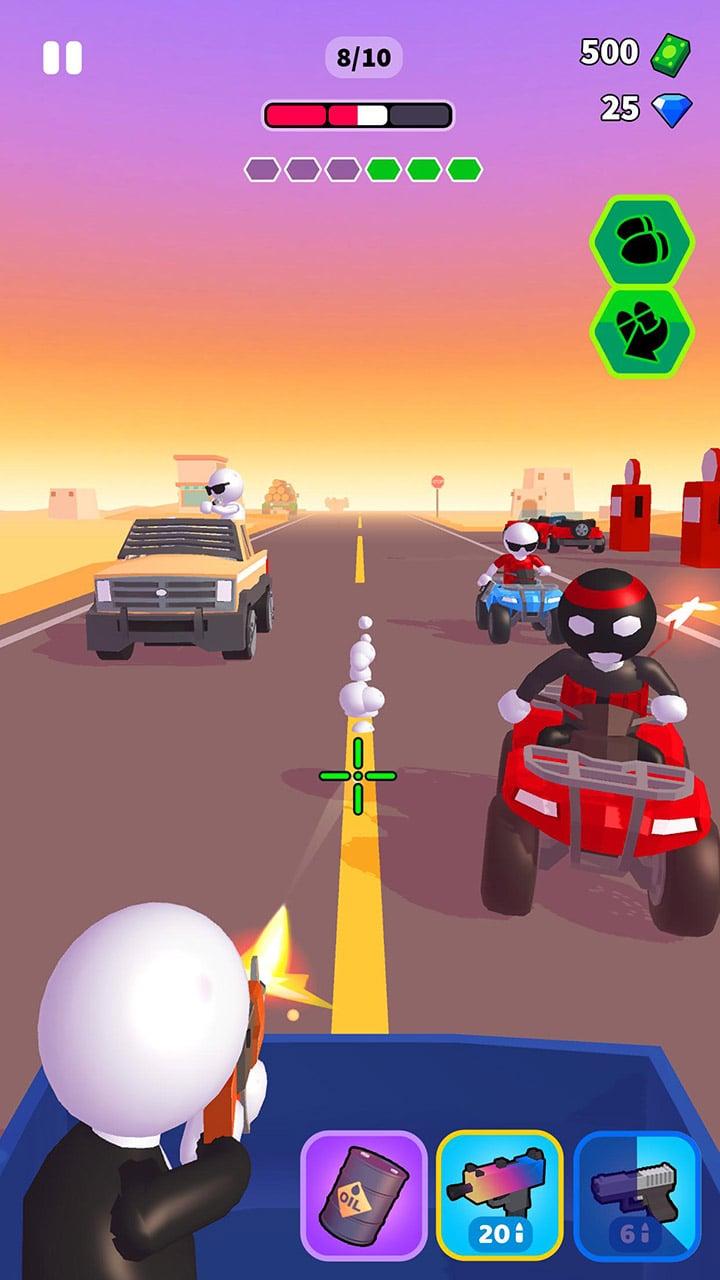 Rage Road screen 1