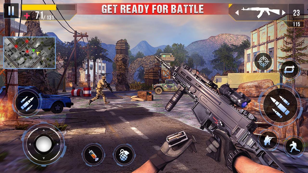 Real Commando Secret Mission screen 0