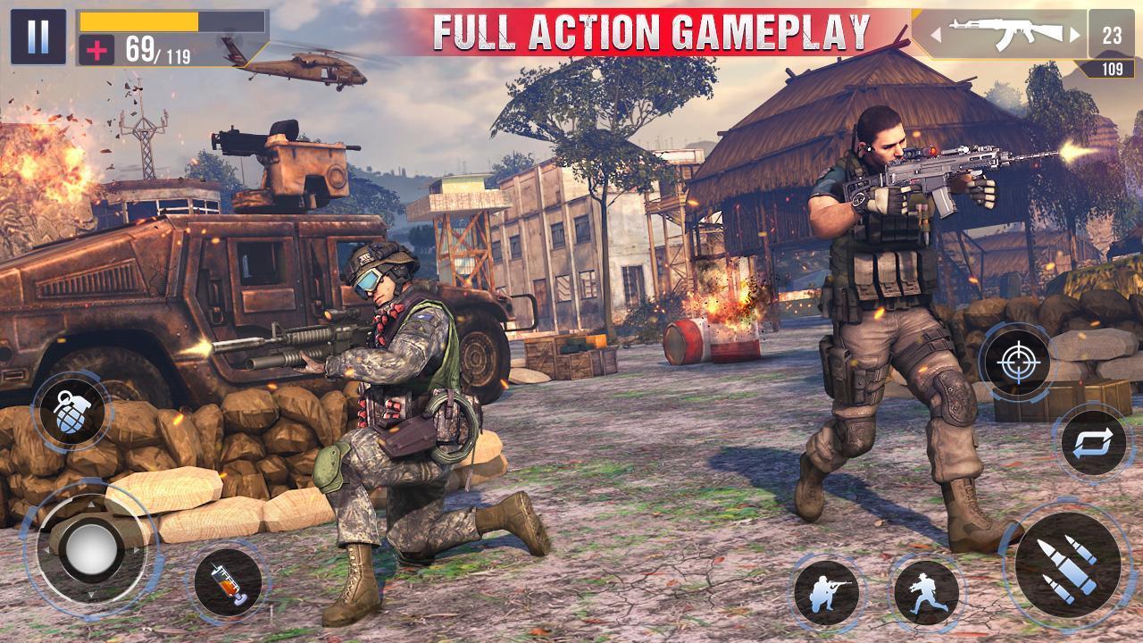 Real Commando Secret Mission screen 1