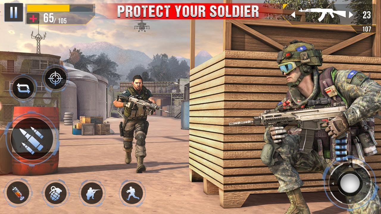 Real Commando Secret Mission screen 2