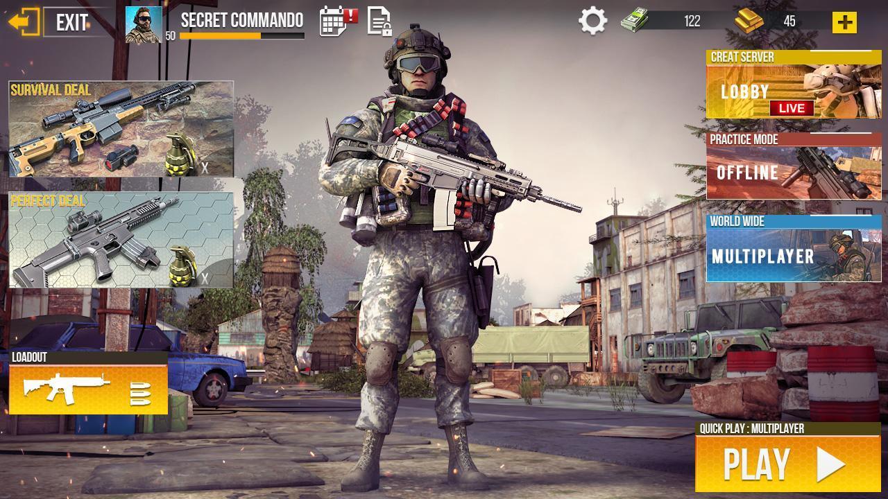 Real Commando Secret Mission screen 3