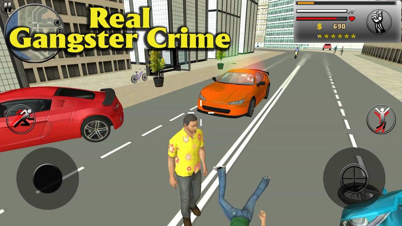 Real Gangster Crime poster