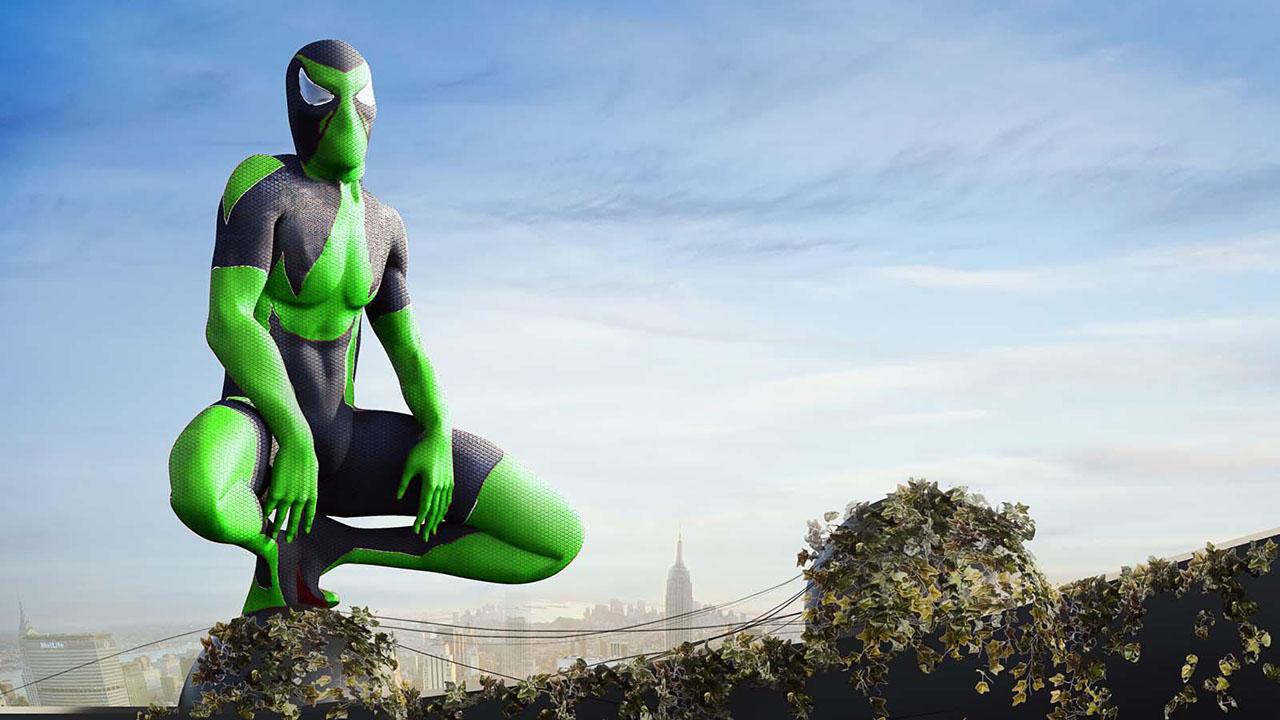 Rope Frog Ninja Hero screen 3