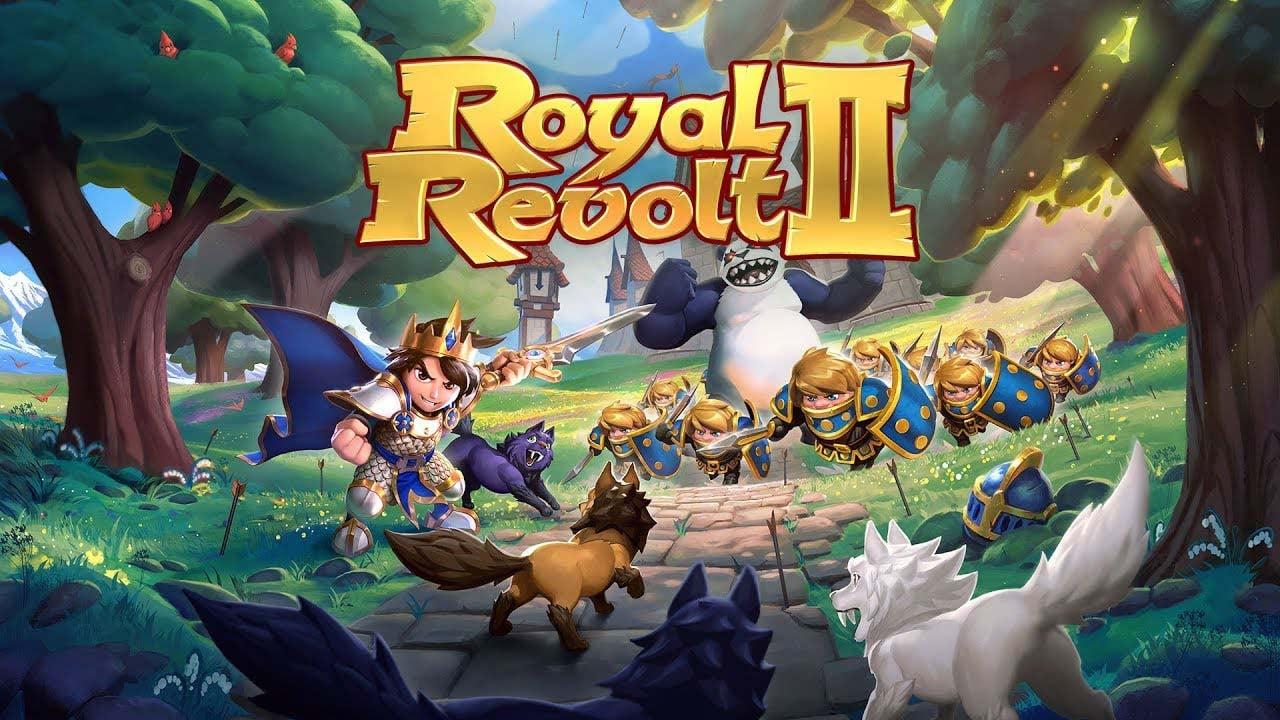 Royal Revolt 2 poster