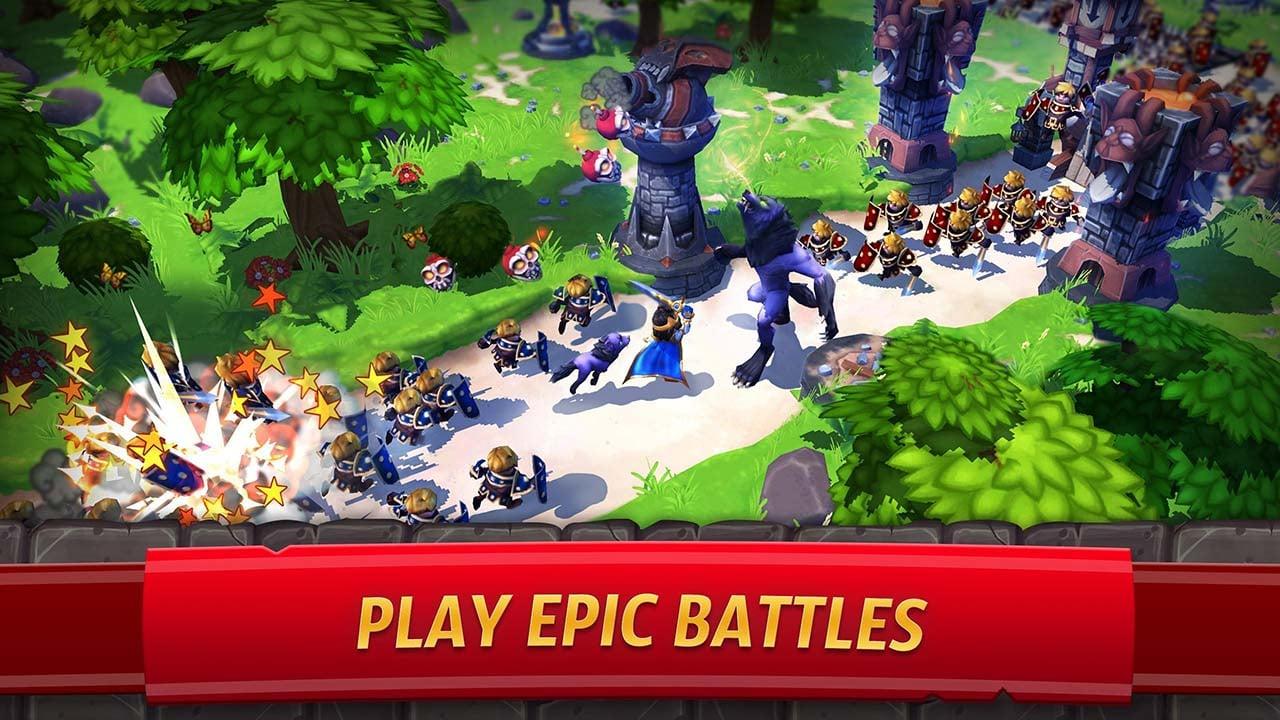 Royal Revolt 2 screen 0