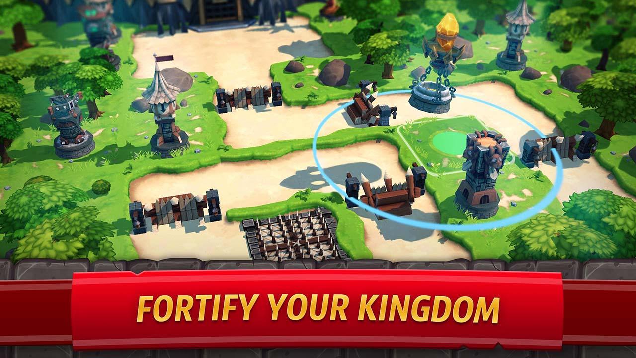 Royal Revolt 2 screen 1