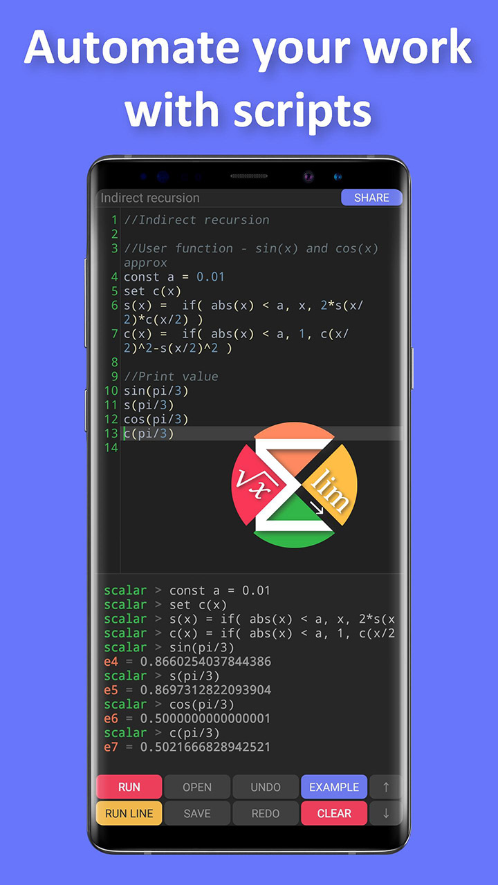 Scalar Pro screen 2