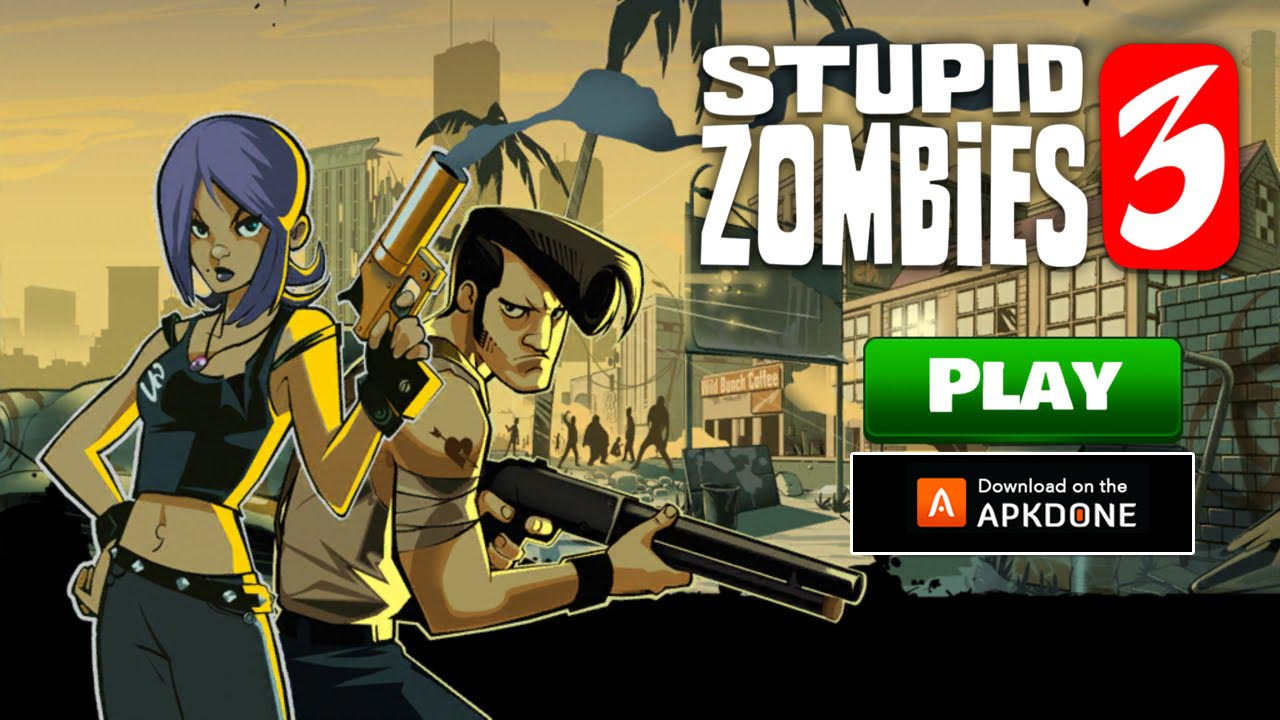 Stupid Zombies 3 poster