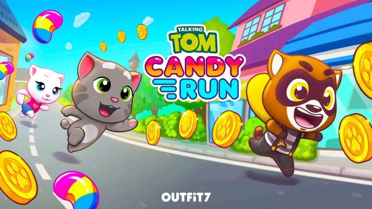 Talking Tom Candy Run poster