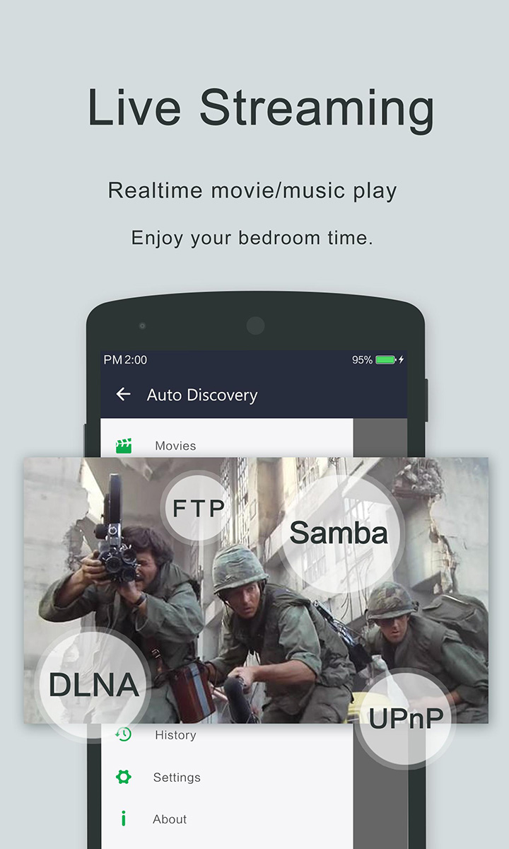 Video Player OPlayer screen 2