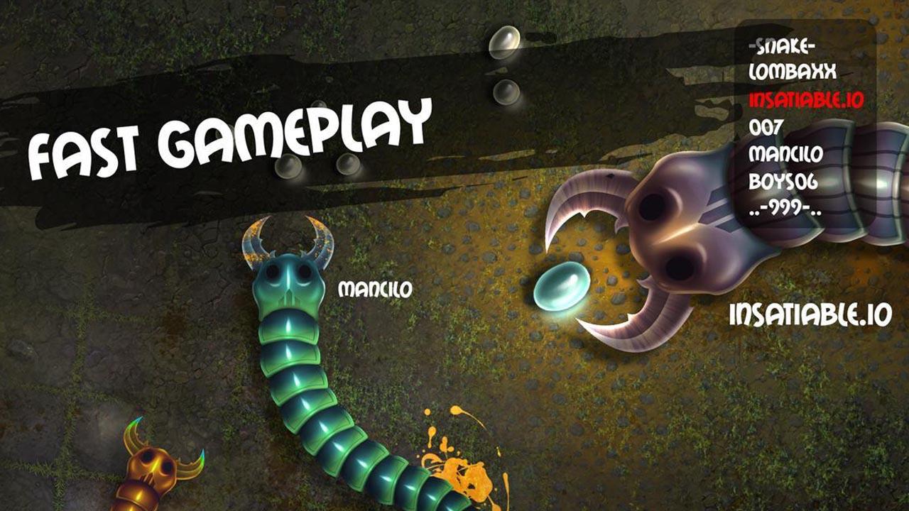 insatiable io snakes screen 6