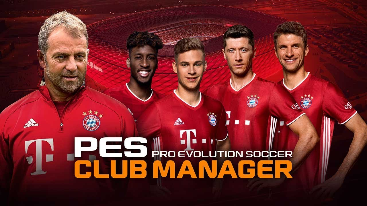 PES CLUB MANAGER poster