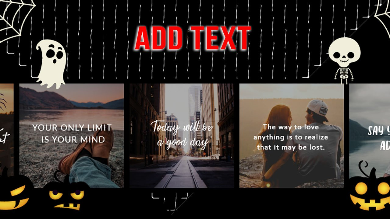 Add Text app Text on Photo Editor poster