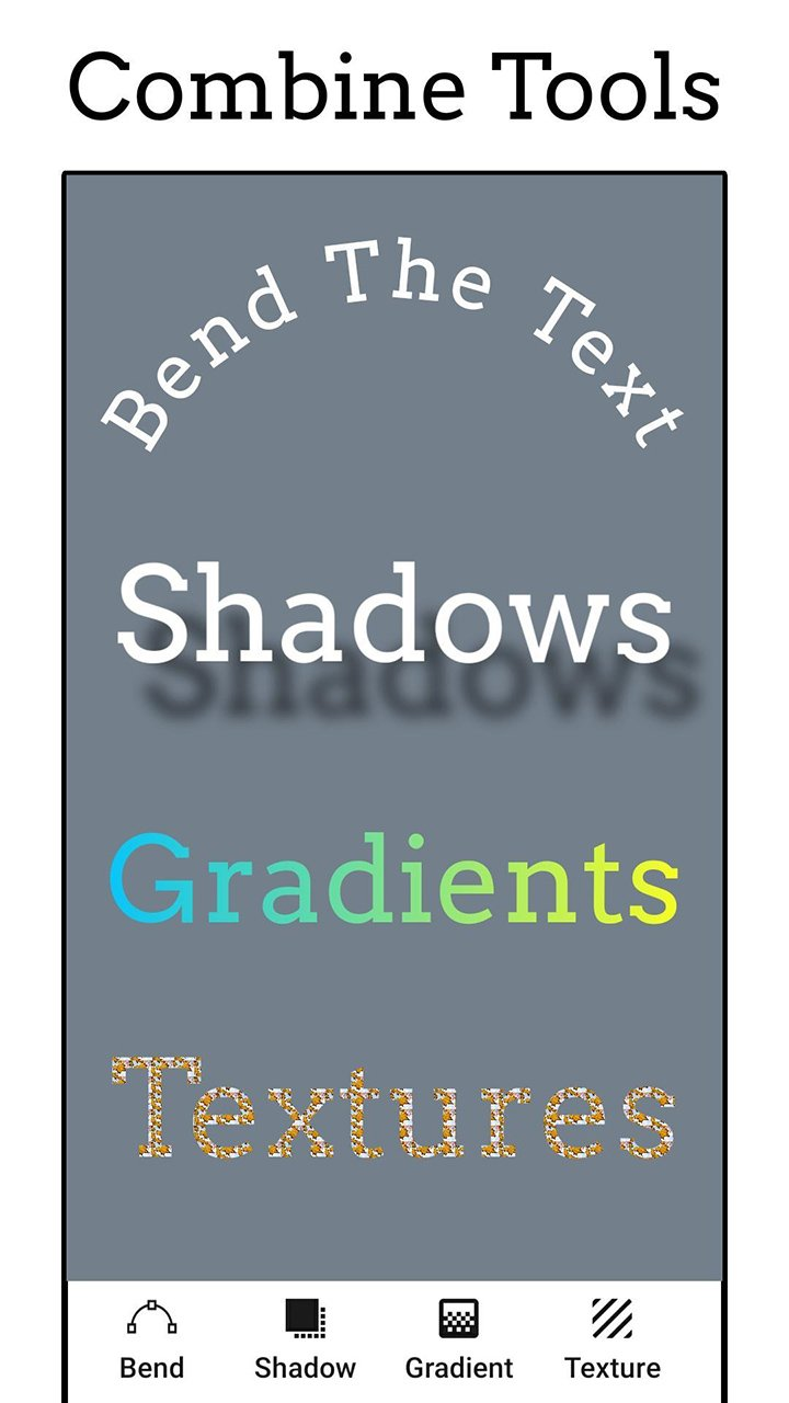 Add Text app Text on Photo Editor screen 3
