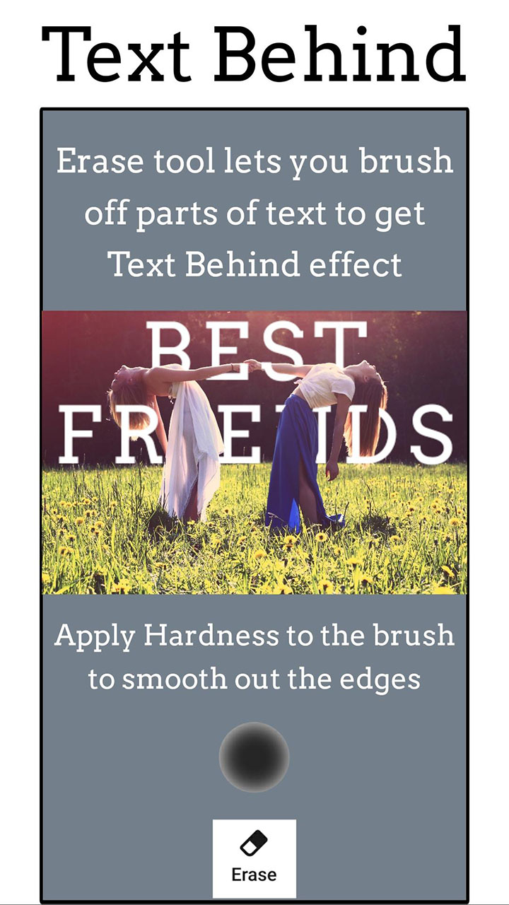 Add Text app Text on Photo Editor screen 4