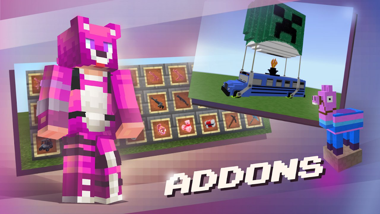 Addons for Minecraft poster