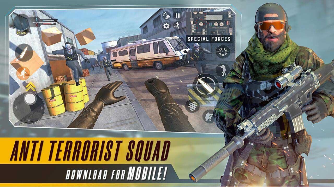 Anti Terrorist Squad Shooting poster