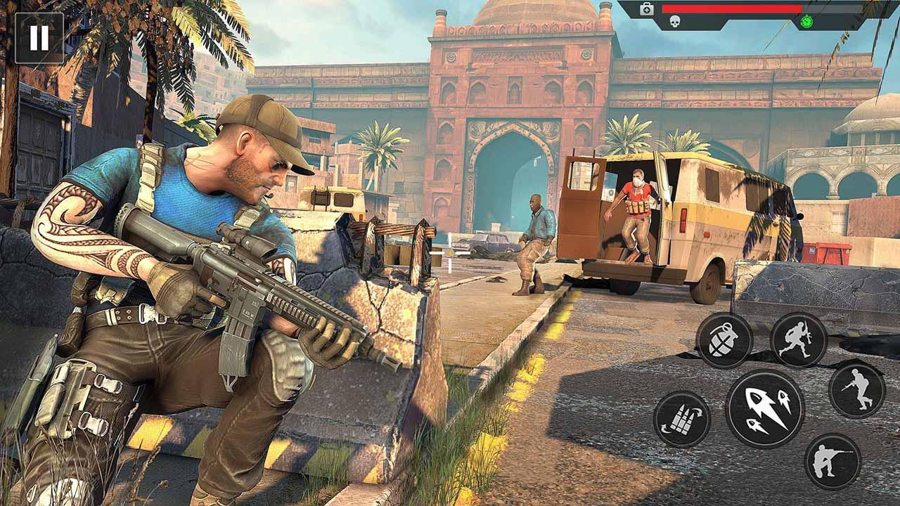 Anti Terrorist Squad Shooting screen 0