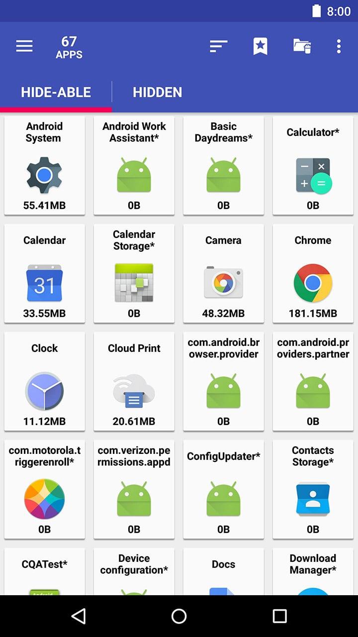 AppMgr III screen 1